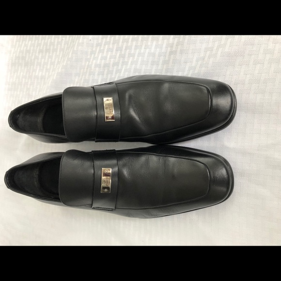 61c47a31a974 Gucci Other - GUCCI Made in Italy Black Loafers Slip On Size 8.5